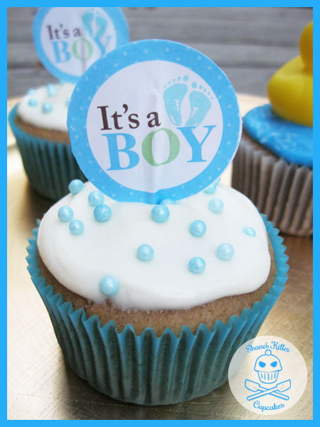 baby shower cupcakes  shane's killer cupcakes, Baby shower invitation