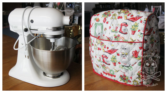 Handmade KitchenAid Stand Mixer Cover | Shane's Killer Cupcakes on unique cover for kitchenaid mixer, juicer for kitchenaid mixer, pattern for kindle fire, protective cover for kitchenaid mixer, pattern for turkey, accessories for kitchenaid mixer, diagram for kitchenaid mixer, pasta maker for kitchenaid mixer, pattern for magic bullet, which color for kitchenaid mixer, flame decals for kitchenaid mixer, vinyl for kitchenaid mixer, pattern for christmas,