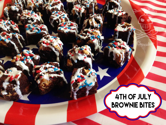 4th of July Brownies | shaneskillercupcakes.com