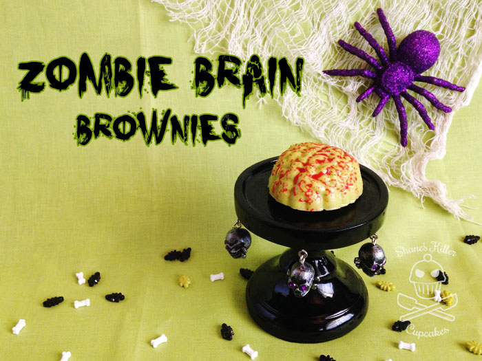 Zombie Brain Brownies | Shane's Killer Cupcakes