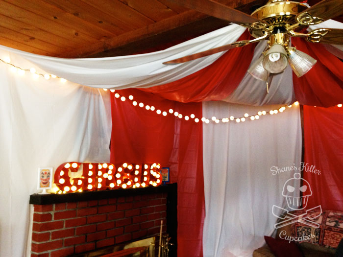Carnival Shane S Cupcakes & circus tent ceiling | www.energywarden.net